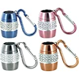 4 pc Lady Nugget Rhinestone-Encrusted Mini Flashlight