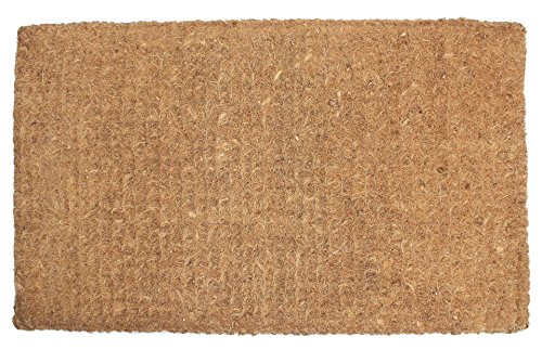 Coir Natural - Natural Coir Coco Fiber Imperial Outdoor Doormat, 24x39