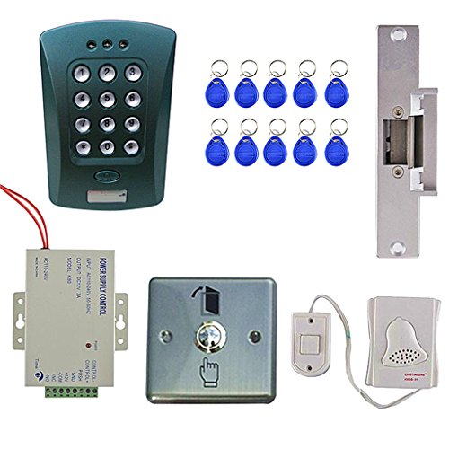 Jili Online Em Card Keypad Door Entry Access Control System Kits