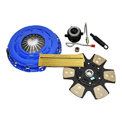 (EFT STAGE 3 CLUTCH KIT w SLAVE 89-92 JEEP CHEROKEE WRANGLER 4.0L 4.2L AISIN TRANS)
