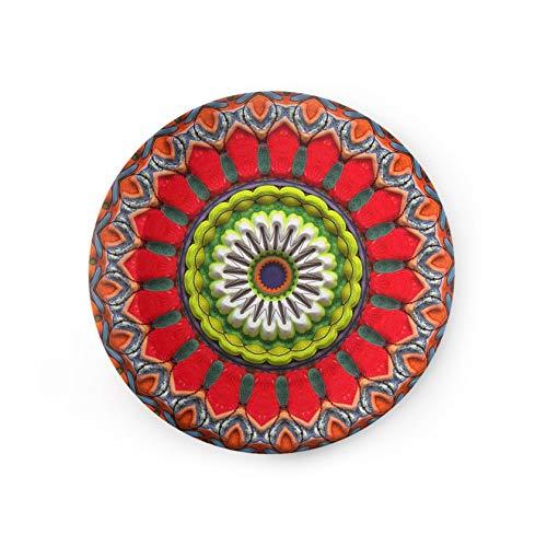 (8 inch Ceramic China Plate Art Trivet Mandala Surrealism Talavera Art Nouveau)