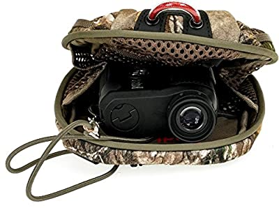 Simmons 801601 Volt 600 Laser Rangefinder, ATAC Camo, with Badlands Realtree Rangefinder Case by Simmons Mfg. Co.