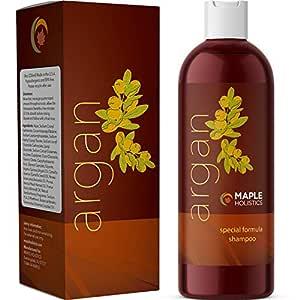 Pure Argan Oil Hair Growth Therapy Shampoo - Sulfate Free Dandruff Shampoo - Natural Treatment for Hair Loss for Men - Hair Regrowth Treatment for Women - Damaged Hair Repair - Thicker Fuller Hair