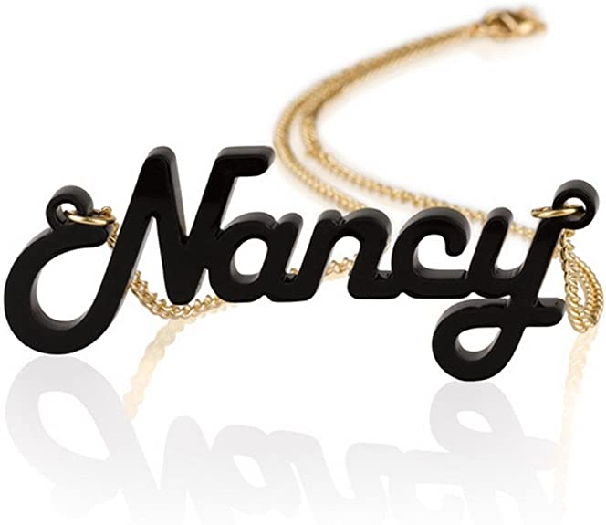 17-inch Acrylic Personalized Necklace