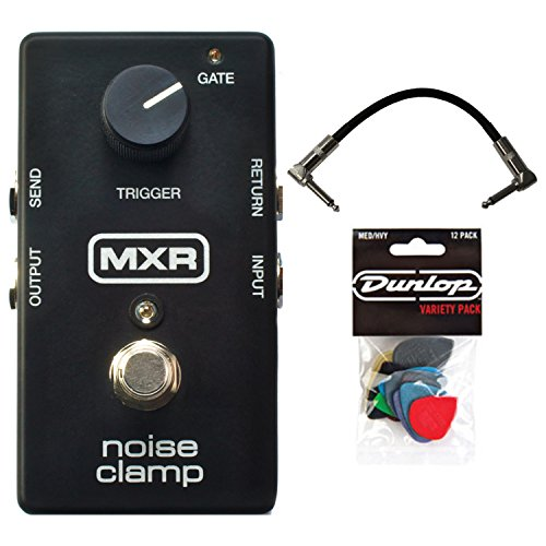MXR M195 Noise Clamp Pedal w/ Patch Cable and Pick Pack by MXR