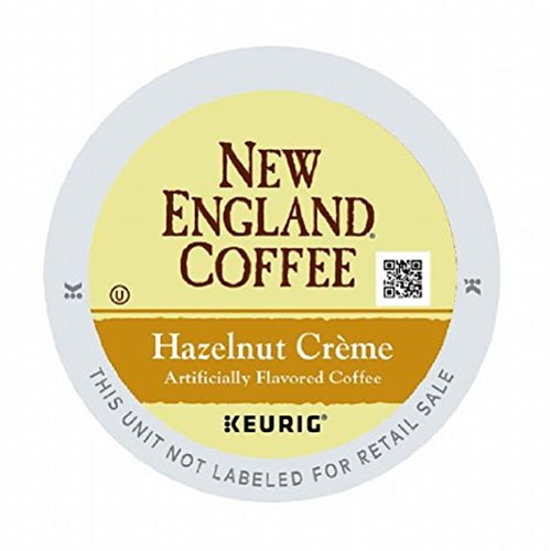 New England Coffee Hazelnut Creme 12 Count Single Serve K-cup -