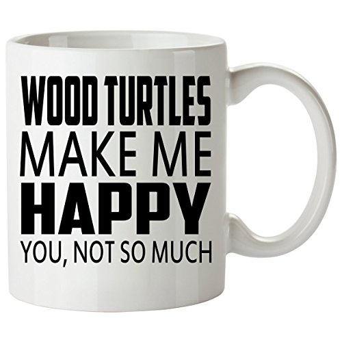 WOOD TURTLE Mug 11 Oz - Good for Gifts - Unique Coffee Cup