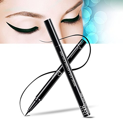 Precise Liquid Eyeliner,Waterproof High Seal Eyeliner Pen, Black, (Black1)