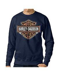 Men's Harley Davidson Logo Sweatshirt Hoody XXL