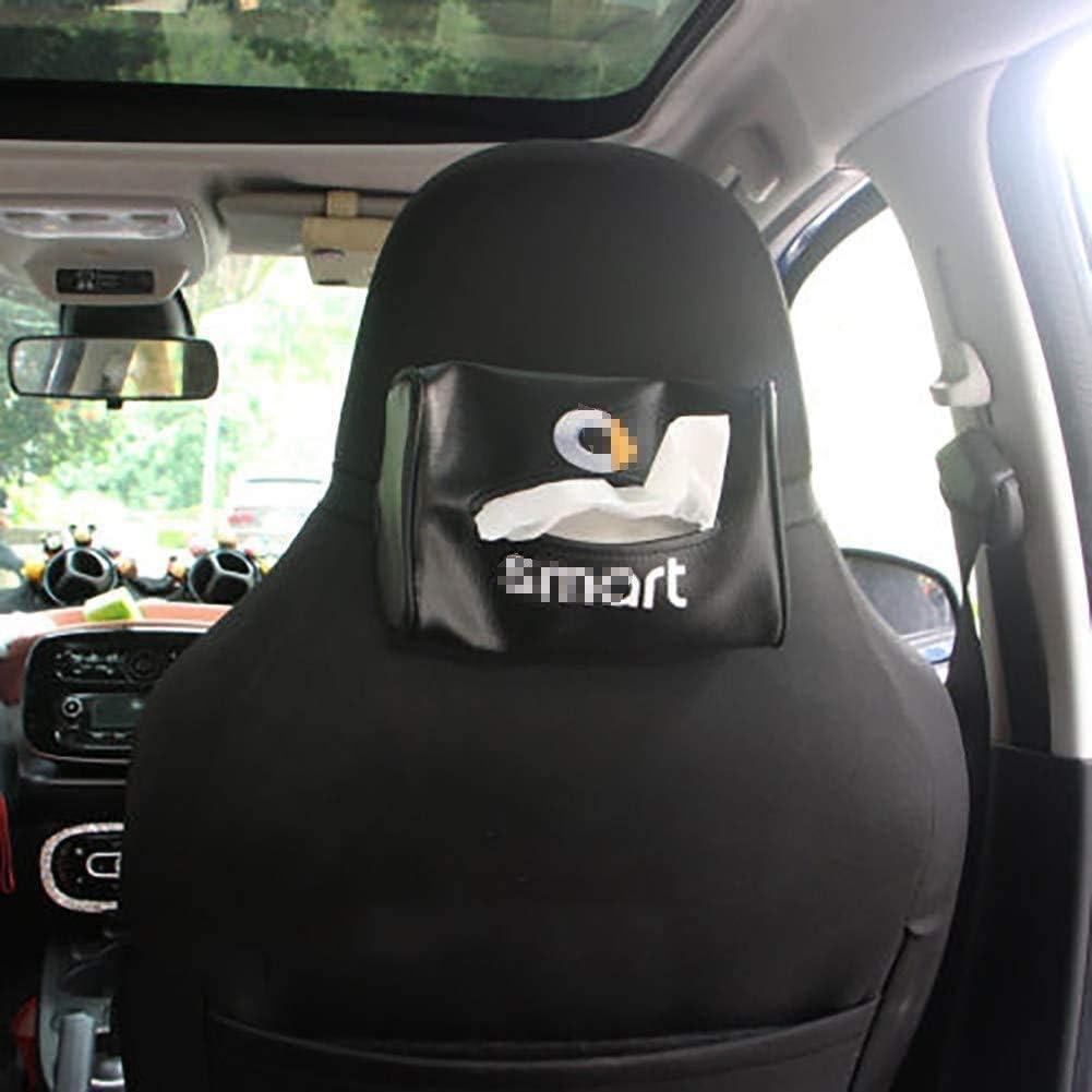 B A A ZPDM Car Box Bracciolo Auto Contenitore Contenitore Appeso Scatola Posteriore Scatola di Cartone Decorazione Multifunzione per Smart 451 453 Fortwo Forfour Accessori
