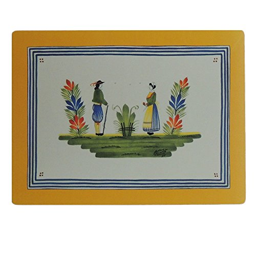 Lady Clare Placemats - Quimper Yellow - Set of 4