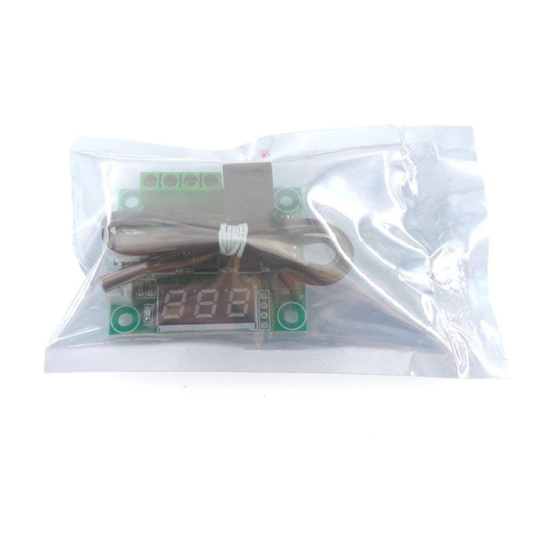 MXECO HW-557 1209 Termostato de Pantalla Digital M/ódulo Controlador de Temperatura de Alta Precisi/ón Micro Tablero de Control de Temperatura
