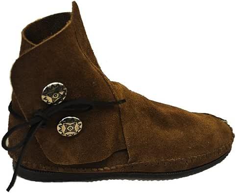 Amazon.com | Taos Moccasins Mens Navajo Style No Button