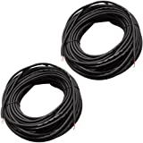 Seismic Audio - RW75 (2 Pack)- 75 Foot Raw Wire to Raw Wire Speaker Cable - 16 Guage - PA/DJ/Home Audio
