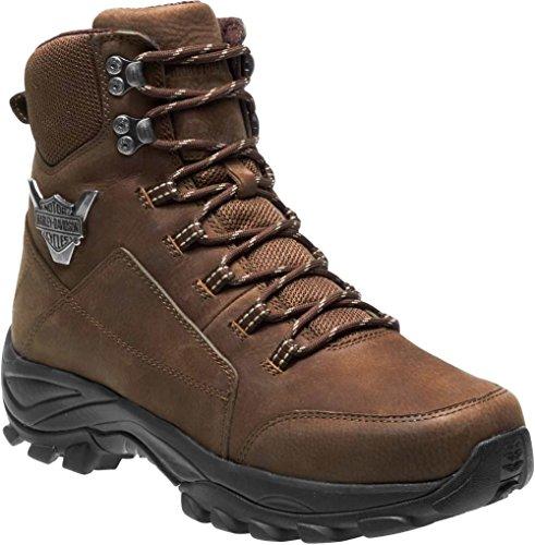 Harley-Davidson Men's Gilmour Hiking Boot, Brown, 09.0 Medium US