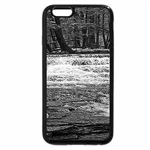 iPhone 6S Case, iPhone 6 Case (Black & White) - Fall Brook, Salt Springs State Park, Pennsylvania
