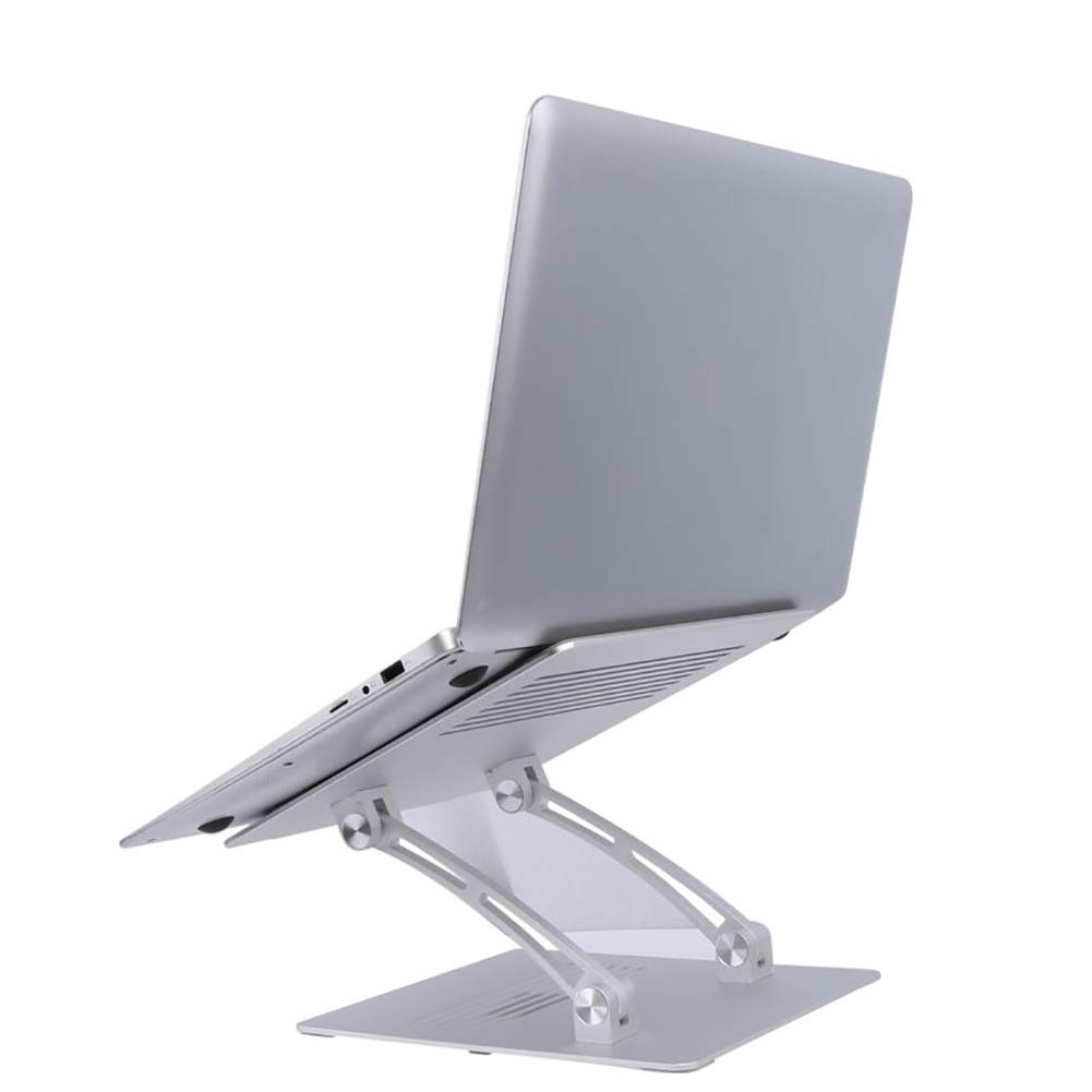TQZY Laptop Stand Adjustable Folding Portable Ergonomic Laptop Riser Notebook Computer Stand Holder Compatible 7~17 Inch