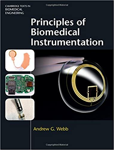 couverture du livre Principles of Biomedical Instrumentation