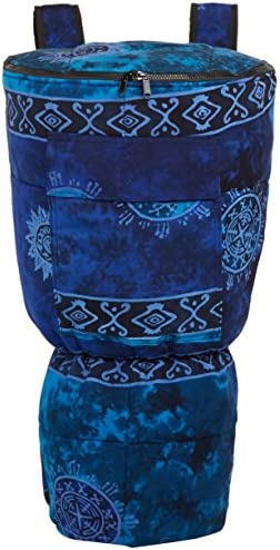 X8 Drums & Percussion Djembe, inch (X8-BG-BLUE-XL)