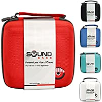 Bose Soundlink Color & Color II Case White Red Hard Carrying Travel Bag by Soundbass Colour 2