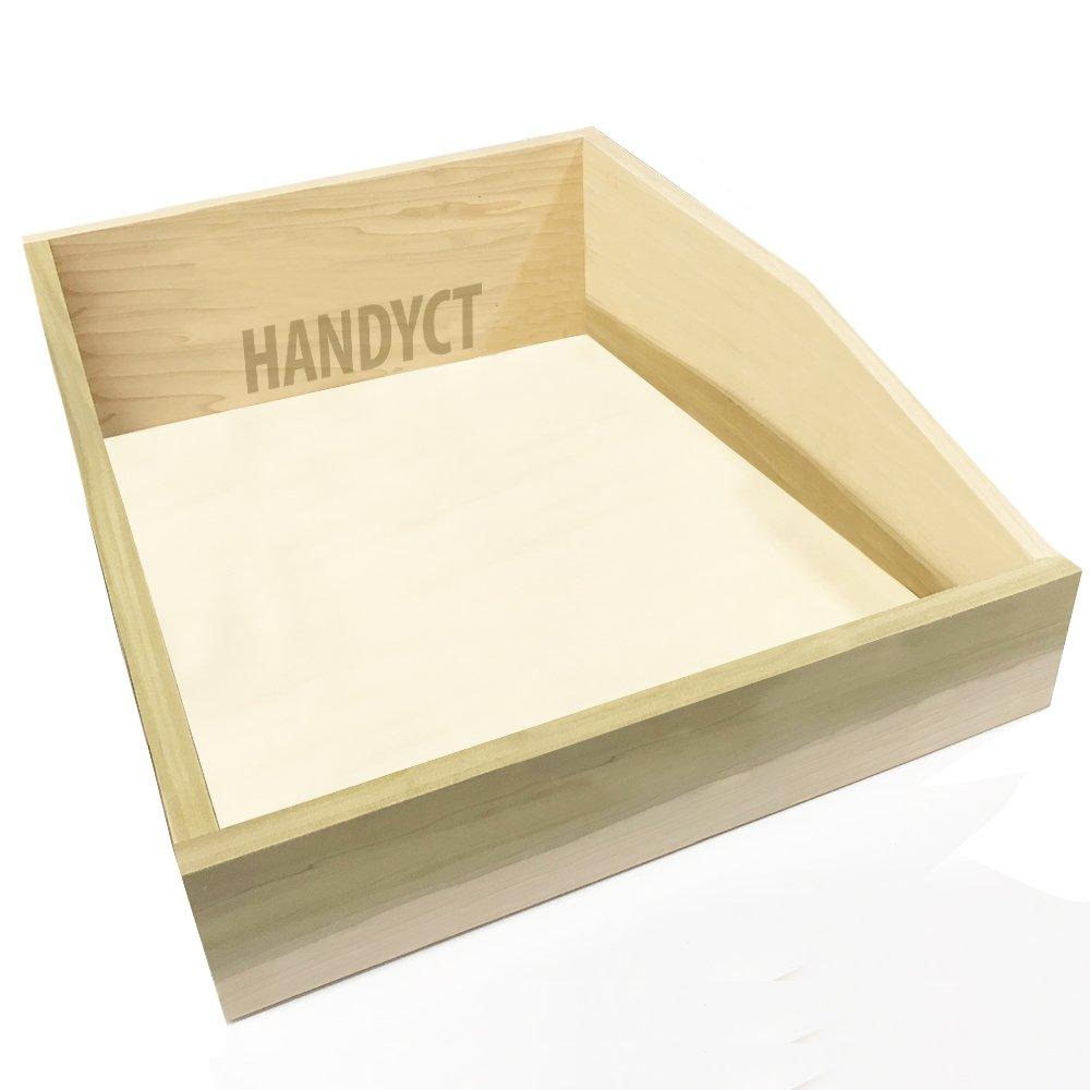 Cabinet Door, Poplar wood drawer box, 25-1/2'' width x 16''depth x 6'' height, MD1