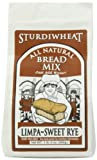Sturdiwheat All Natural Bread Mix, Limpa-Sweet Rye, 21-Ounce Package (Pack of 4)