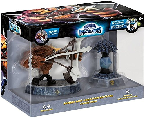 Skylanders Imaginators Sensei and Creation Crystal | Wolfgang - Undead Creation Crystal