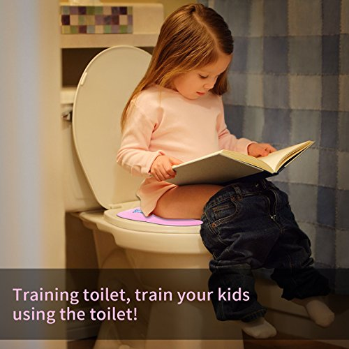Elongated Toddler Toilet Seat