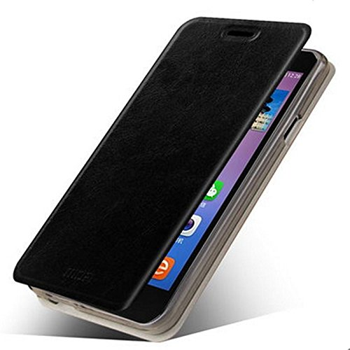 Lenovo A916 Case, Hi5Gadget ZLDECO Fashional Flip Flio Ultra Thin PU Leather Protective Bumper Case Cover Shell with stand function for Lenovo a916 (Black)