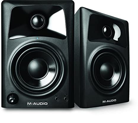 M-Audio AV32 | 10-Watt Compact Studio Monitor Speakers with 3-inch Woofer (Pair) 103294 Accessory Electronics Home Audio & Theater