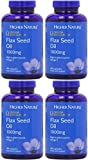 (4 PACK) - Higher Nature - Organic Flax Seed Oil Capsules | 180's | 4 PACK BUNDLE