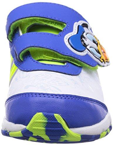Baskets Disney Donald Duck Classic pour b�b� gar�on en blanc et bleu