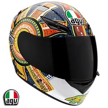 AGV K3 Rossi Dreamtime casco de moto casco pequeño de Spa – Italia 032150 a0011005