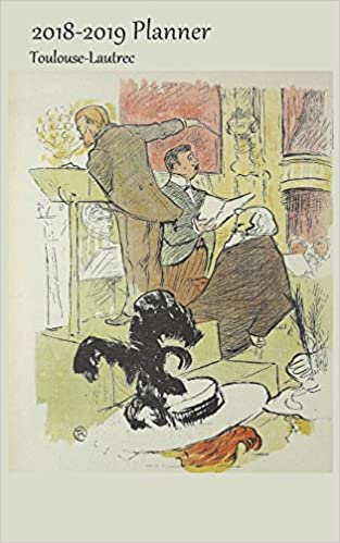 ClassicArt Planners - 2018-2019 Planner Toulouse-lautrec: Small 2 Year Bi Weekly 2018-19 Organizer With Yearly, Monthly And Address Pages And Ambroise Thomas (pd) Cover