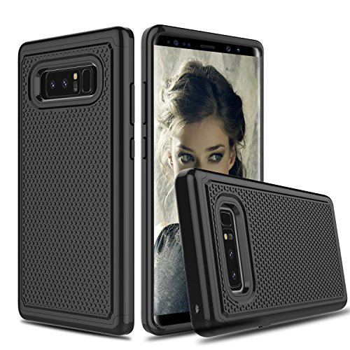 Galaxy Note 8 Case, Venoro Slim Hybrid Dual Layer Armor Anti Scratch Shockproof Phone Protection Case Cover for Samsung Galaxy Note 8