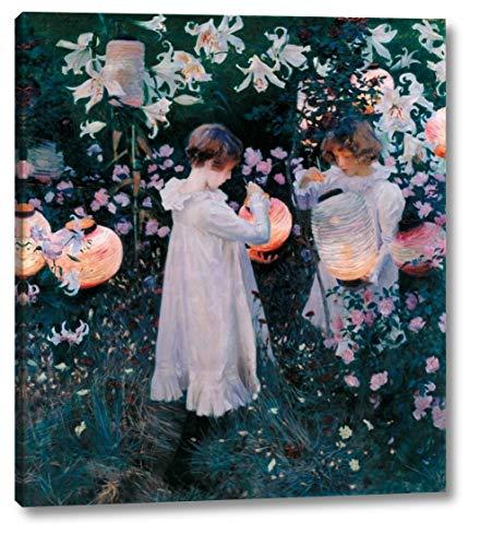 Carnation, Lily, Lily, Rose, 1885 by John Singer Sargent - 25