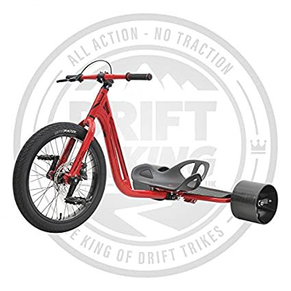 Triad famoso 3 Drift trike, Notorious 3, rojo: Amazon.es ...
