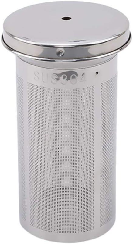 Ogquaton Filtres /à th/é Infuseur de th/é Cylindre r/éutilisable en acier inoxydable tamis fin pour le th/é Filtre /à caf/é Outils pour le th/é Portable et utile