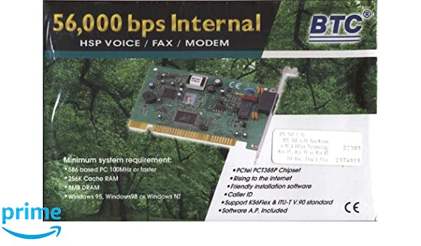 BTC PC-TEL HSP 56000 64BIT DRIVER DOWNLOAD