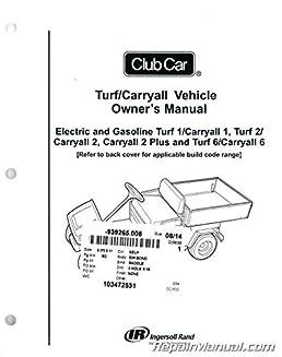 103472531 club car turf carryall owners manual pargo golf cart wiring diagram club car turf 1 wiring diagram #11