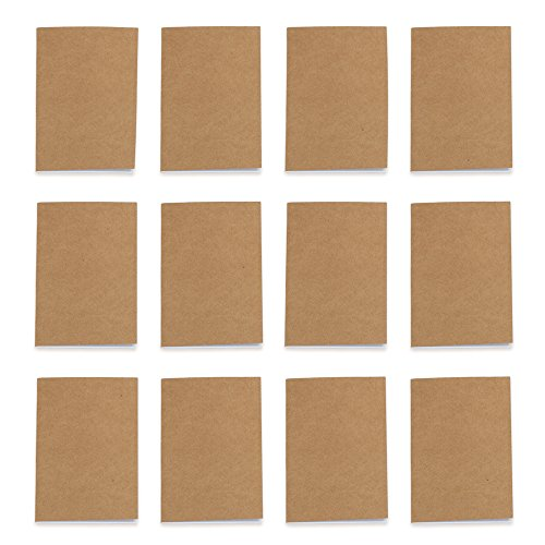 - Unlined Brown Pocket Journals, 3.5
