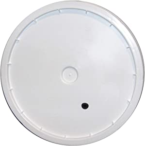 Fermenting Bucket Lid with Hole and Grommet for 7.8 and 7.9 Gallon Fermenting Buckets