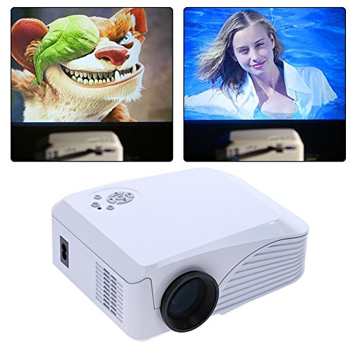 Portable 7000 Lumens HD 1080P 3D Multimedia Projector LED Home Theater HDMI by UEB
