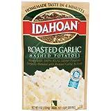 Idahoan Mashed Potatoes Roasted Garlic, 4 OZ (Pack of 12)