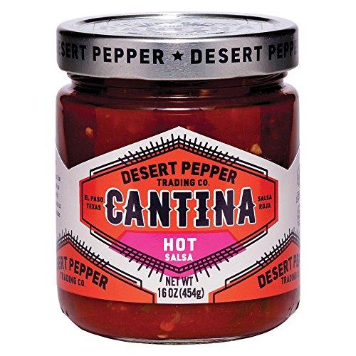 Desert Pepper Cantina Hot Red Salsa, 16 oz