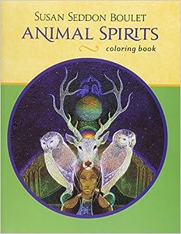 Susan Seddon Boulet Animal Spirits Color Book 0717195242732 Amazon Books