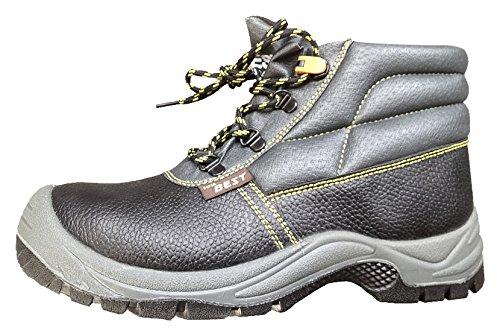 Seba 621FCE Schuh hohe, Schwarz mit ausziehbare S3, Größe 45