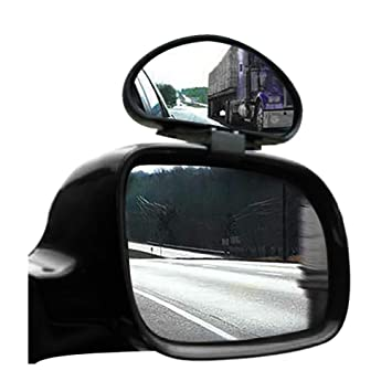 ACAMPTAR 2 X Dead Angles Mirrors Adjustable Wide Angle for Car Van Towing