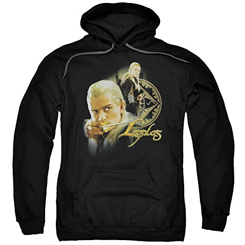 The Lord of The Rings Movie Legolas Adult Pull-Over Hoodie