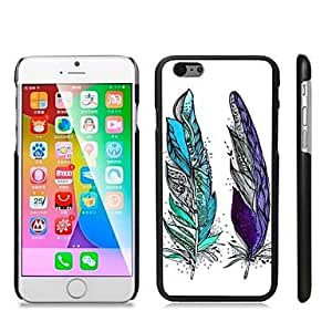 ZXSPACE Stylish Patterned Hard Plastic Snap On Case for iPhone 6